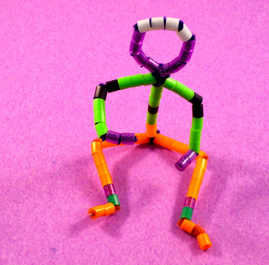 Pinned it and Did it! Pipe Cleaner Dude