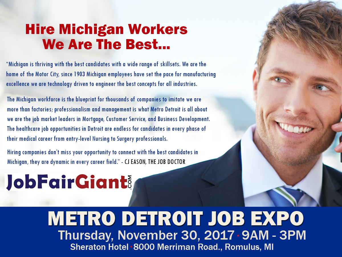 JobFairGiant.com Blog: Reasons To Hire In Michigan Workers First
