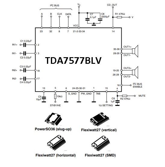 UNBOXING ELECTRONICS GADGETS: TDA7379 TDA7377 TDA7375