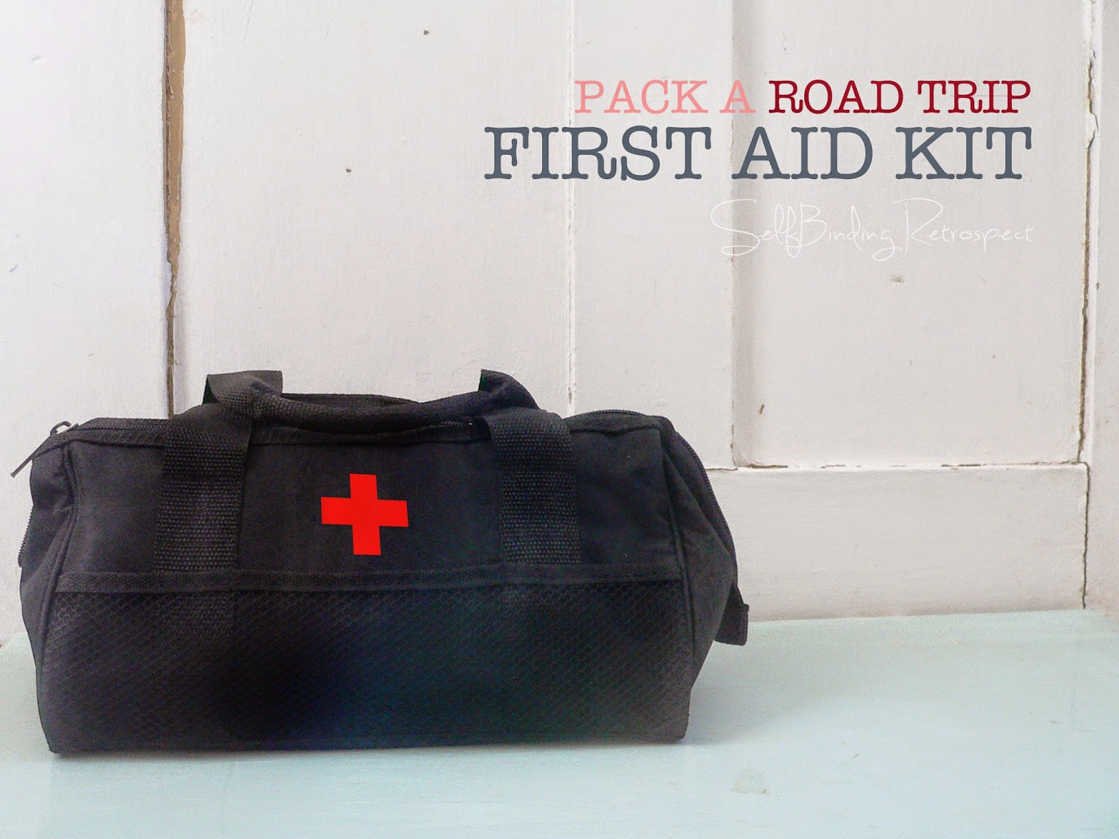 road trip first aid kit