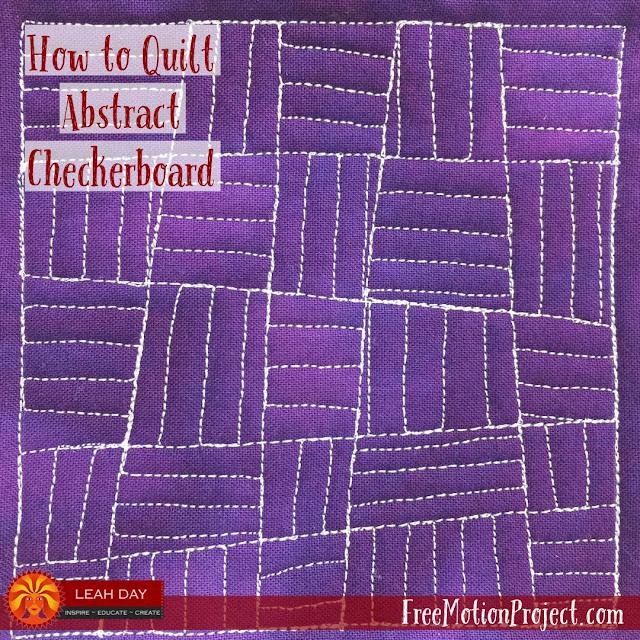 checkerboard quilt design