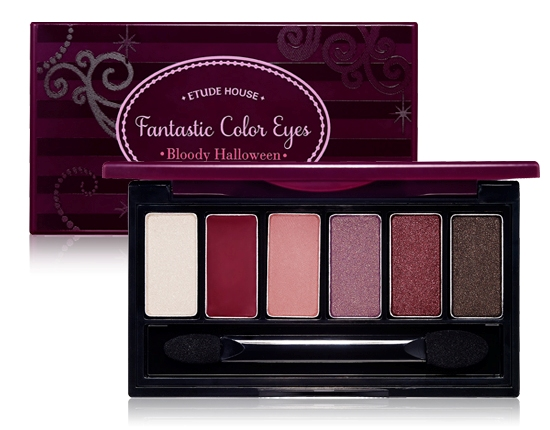 Etude House Fantastic Color Eyes palette 1 - Bloody Halloween