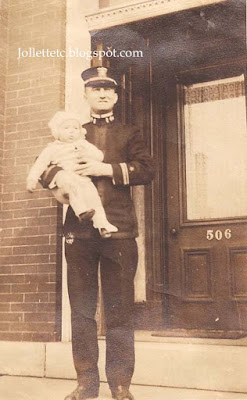 Unknown man and baby New York City 1918 https://jollettetc.blogspot.com