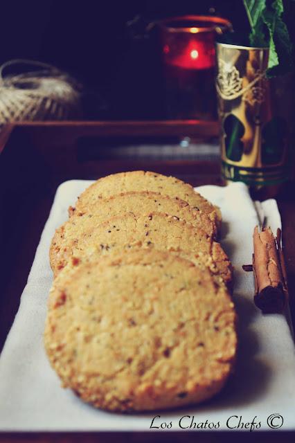 galletas de té marroquí