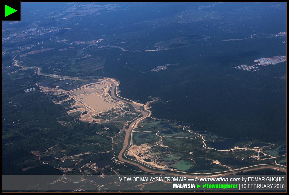 PENINSULAR MALAYSIA AERIAL VIEW