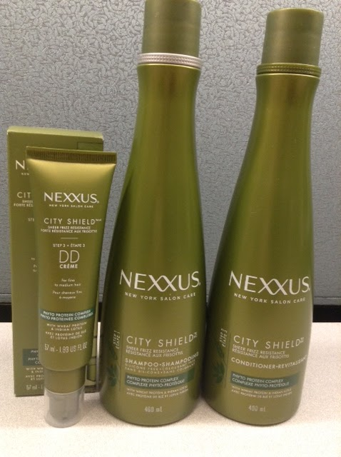 Nexxus City Shield Collection Shampoo, Conditioner, DD Creme
