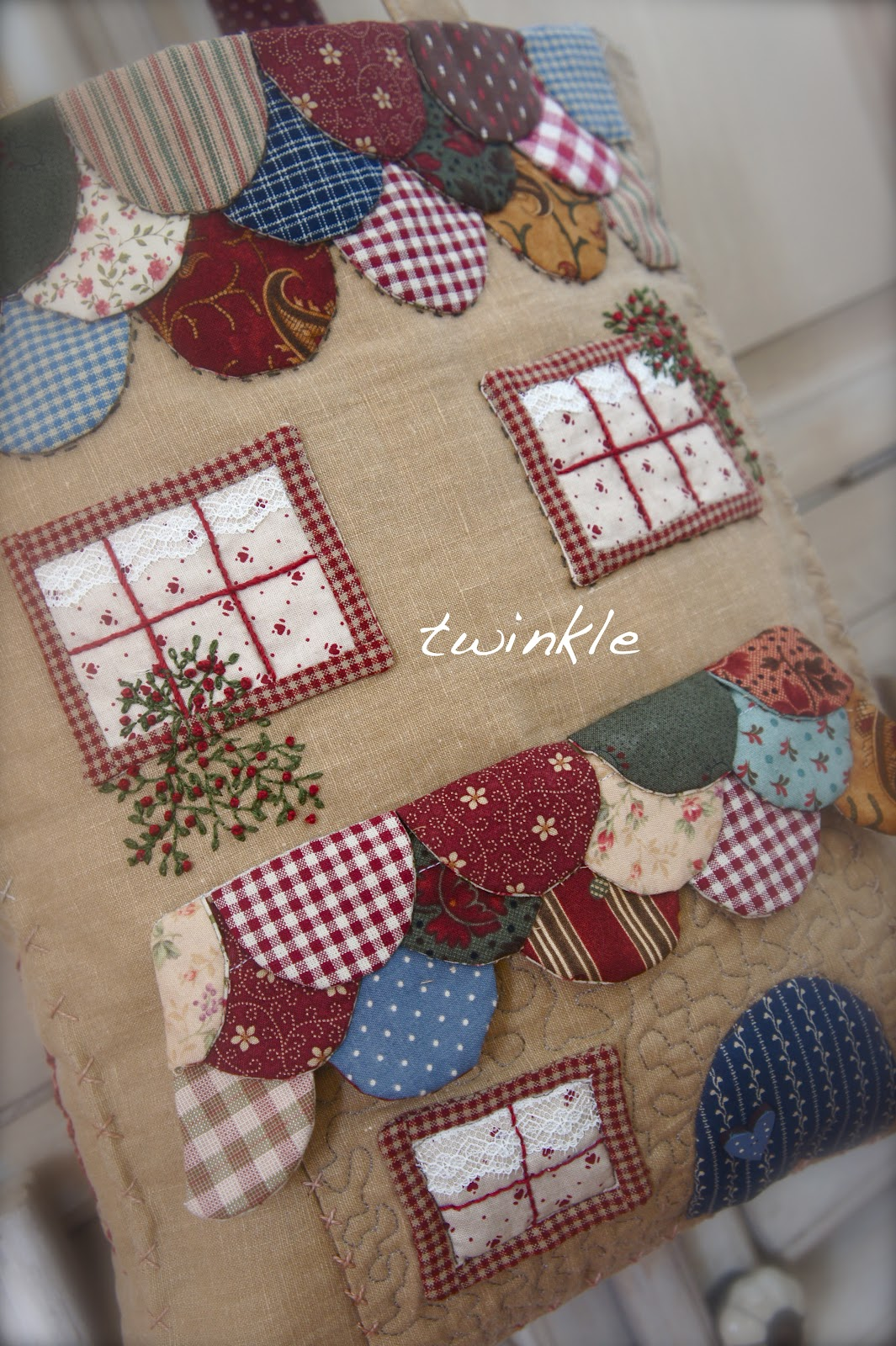 "Photo Patchwork Twinkle Patchwork: Bolso "" Sewing Dreams"