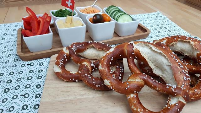 Tag der Brezn - Abendbrot bayerisch