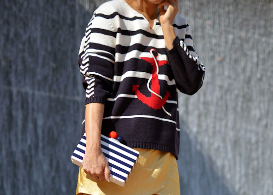 Nautical fashion style
