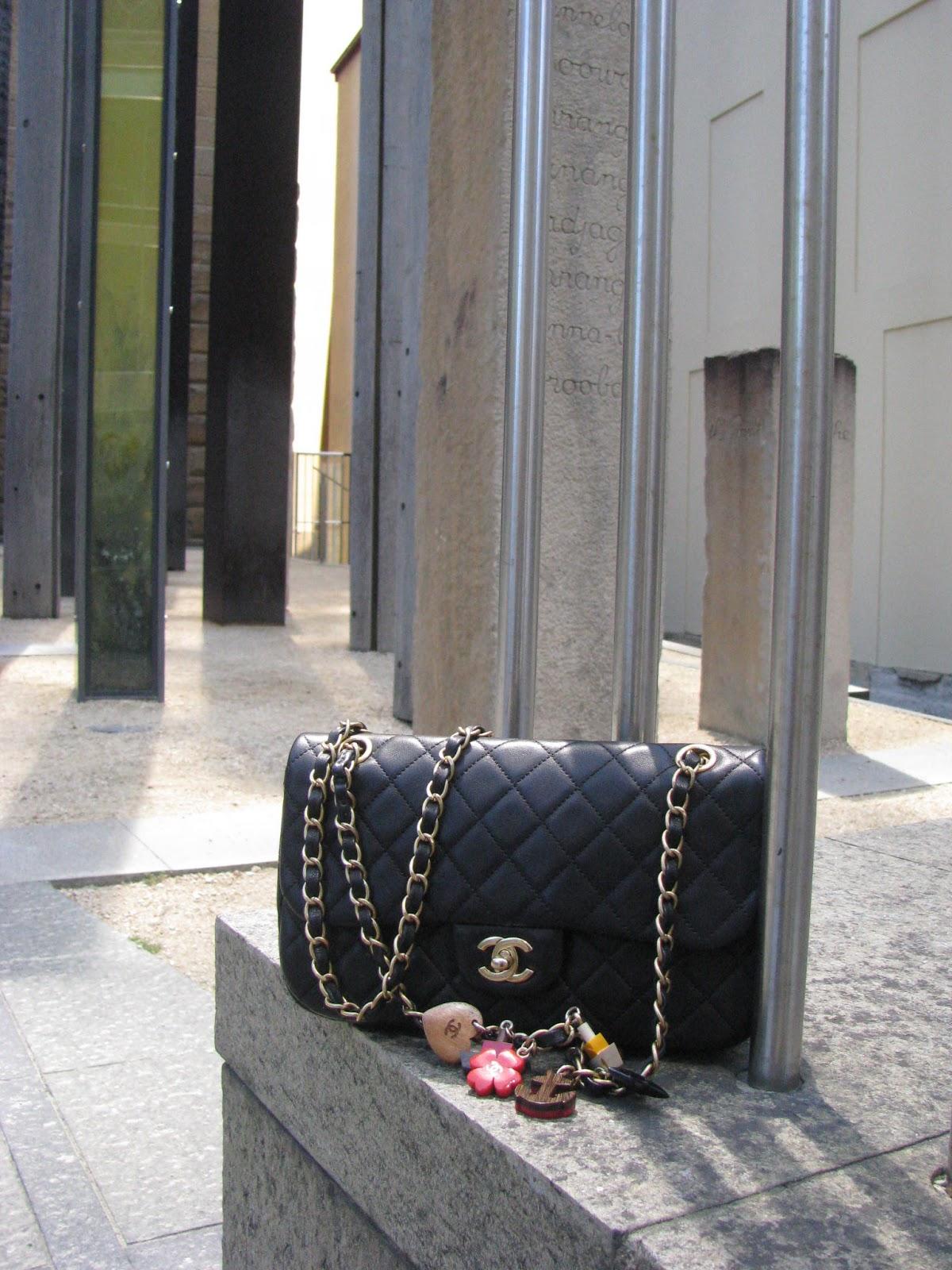 Chanel bag with nautical charms
