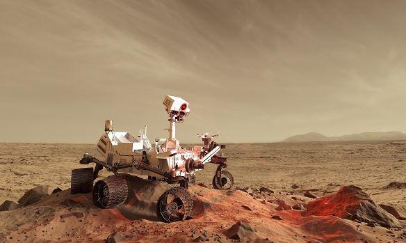 penjelajahan di tanah merah planet mars