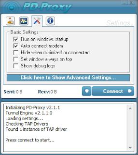 Setup PD-Proxy and Use Free Internet