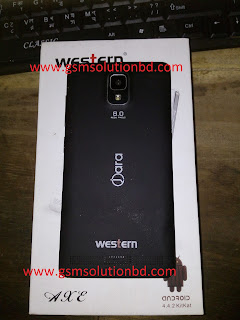 western W110 MT6572 firmware flash file 1000% tested