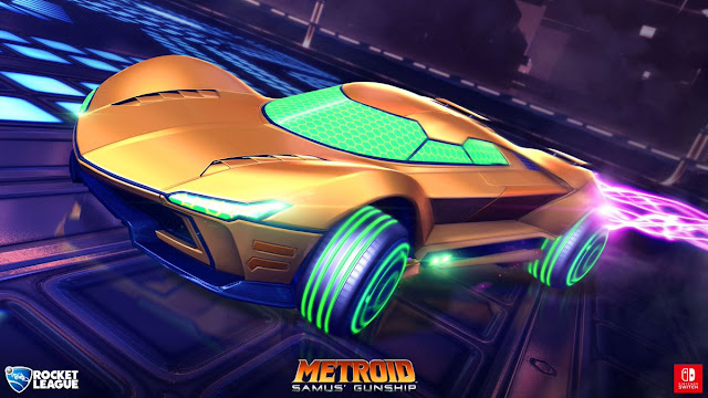 Mira en acción los coches exclusivos de Nintendo para Rocket League