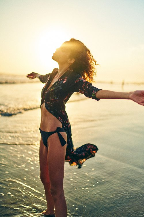 Leroy Lee Jun Liang 500px arte fotografia mulheres modelos praia luz mar fashion beleza