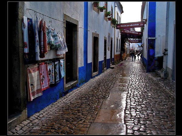 One street at Obidos