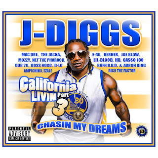 J-Diggs - California Livin', Pt. 3: Chasin' My Dreams (2016) - Album Download, Itunes Cover, Official Cover, Album CD Cover Art, Tracklist