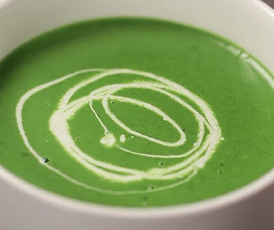 how to make spinach soup at home
