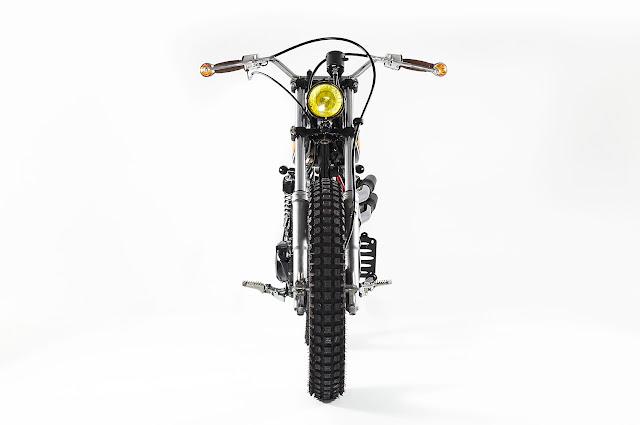 ϟ Hell Kustom ϟ: Honda XL250 1984 By C2R Custom
