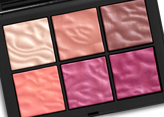 NARS Exposed Cheek Palette Review Spring 2019