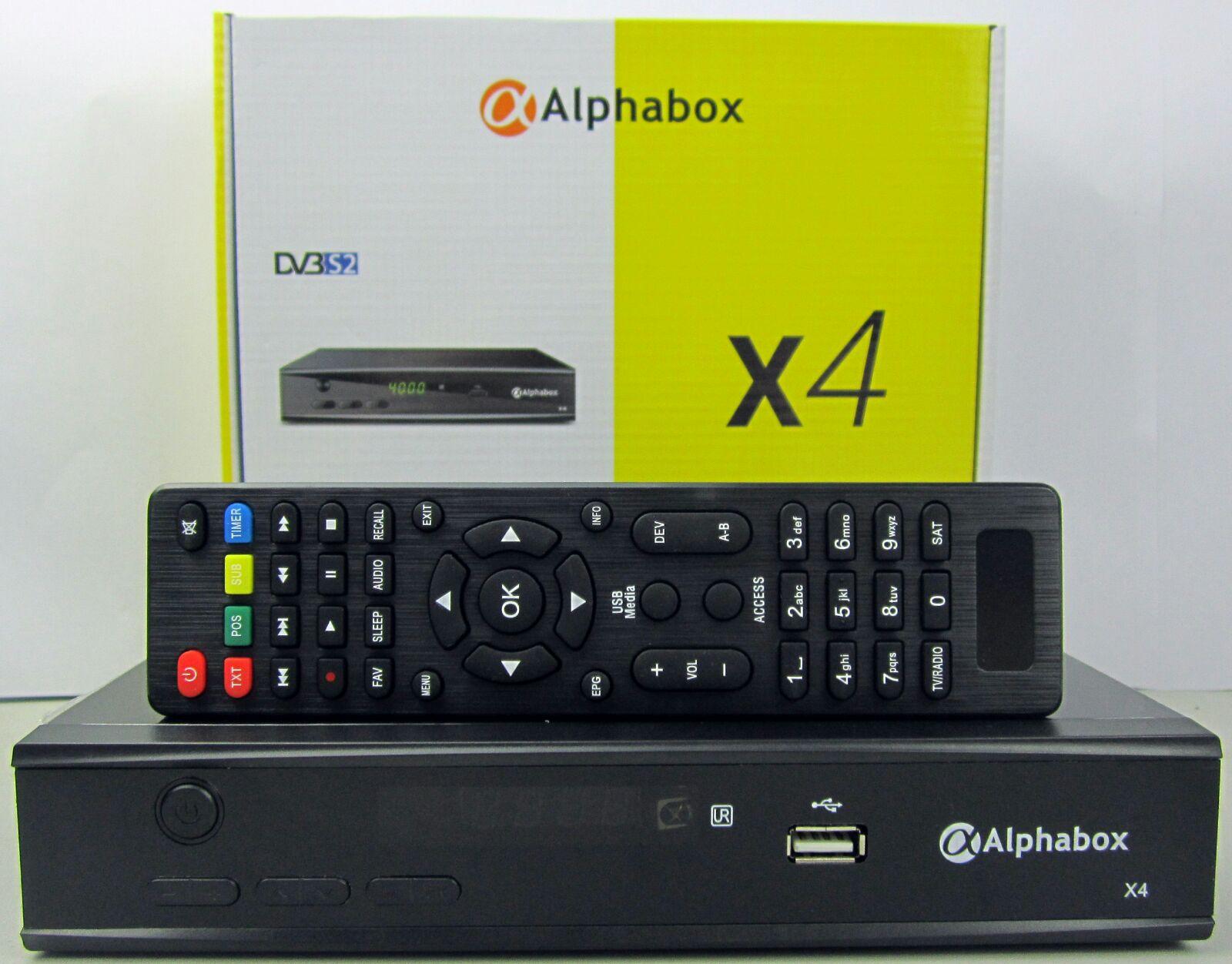 AlphaBox X4 HD ~ ALECO STAR DIGITAL
