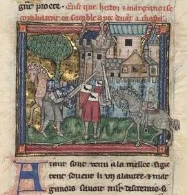 L'Estoire du Graal, begin 14e eeuw