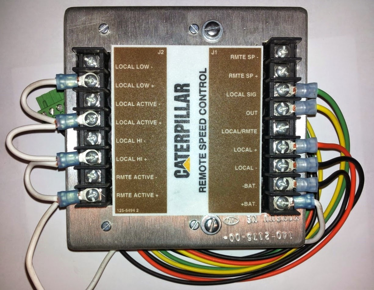 USED 140-2175 CATERPILLAR CONTROL GP-REMOTE SPEED CONTROL
