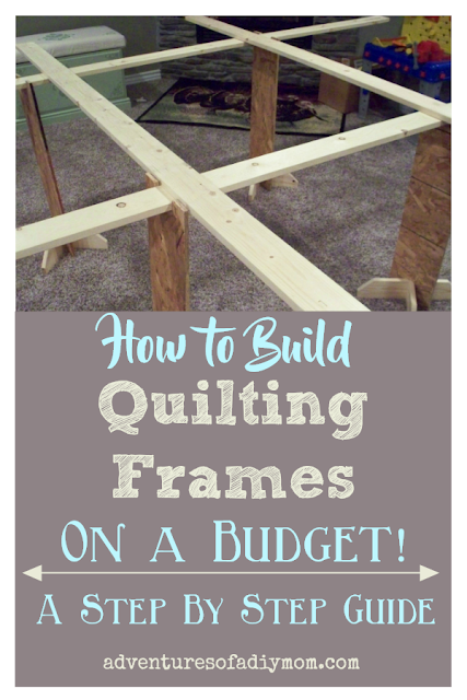 quilting frames collage