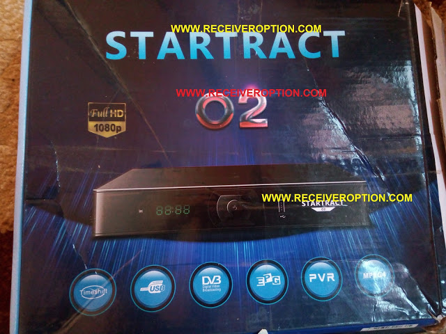 STARTRACT O2 HD RECEIVER POWERVU KEY NEW SOFTWARE