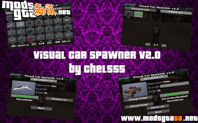Visual Car Spawner V2.0