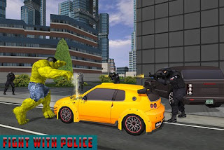 Download Game Monster Hero City Battle Full Hack