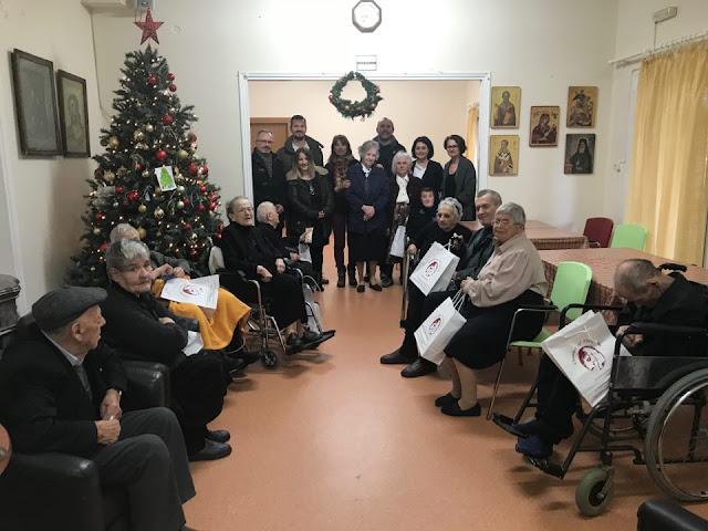Στο Γηροκομείο Ηγουμενίτσας μοίρασε δώρα το Επιμελητήριο Θεσπρωτίας