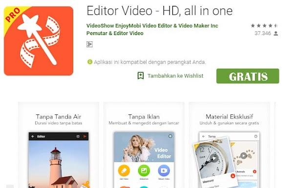 Download Aplikasi VideoShow Pro APK, Edit Video di Android Tanpa Watermark Gratis