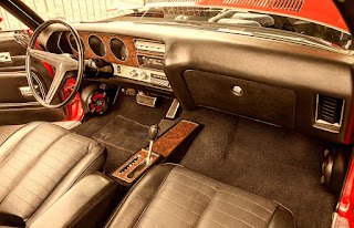 1971 Pontiac LeMans Sport Convertible Dashboard