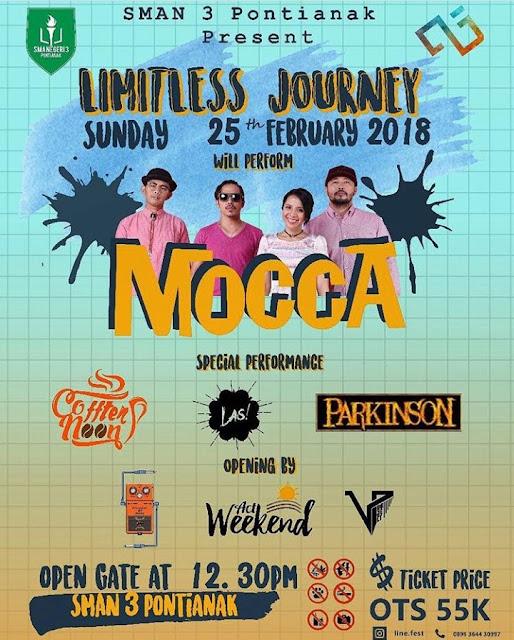 "Mocca Turut Meriahkan ""Limitless Journey"""