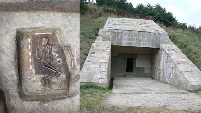 Βουλγαρία: Ανασκαφές έφεραν στο φως τον τάφο Θρακιώτη «γίγαντα» 4.000 ετών