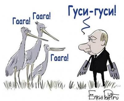 Два пути Путина из Кремля: прямо на кладбище или в Гаагу