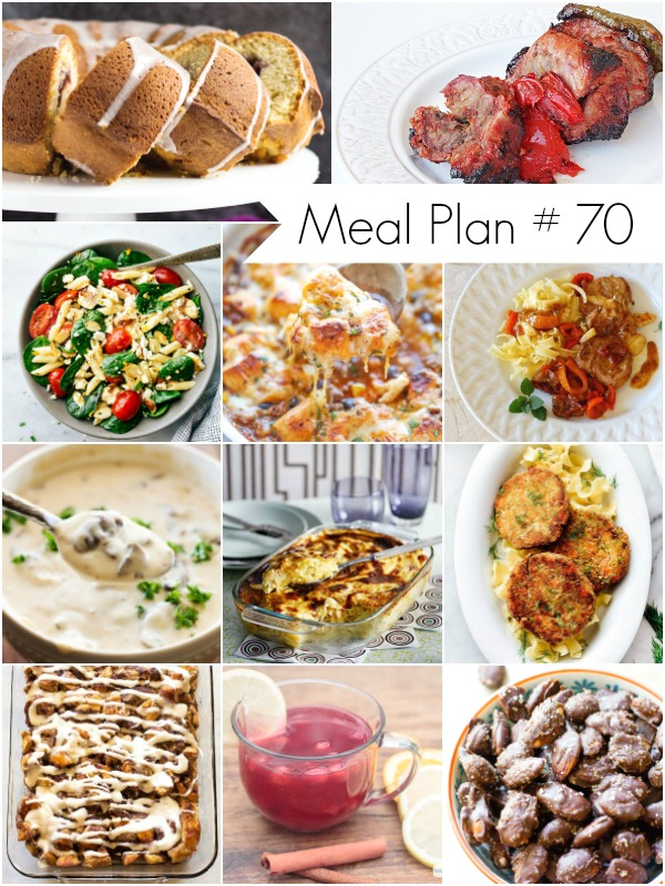 Weekly Meal Plan Recipes - Ioanna's Notebook