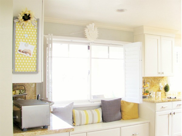 window seat, Northern California open concept home tour