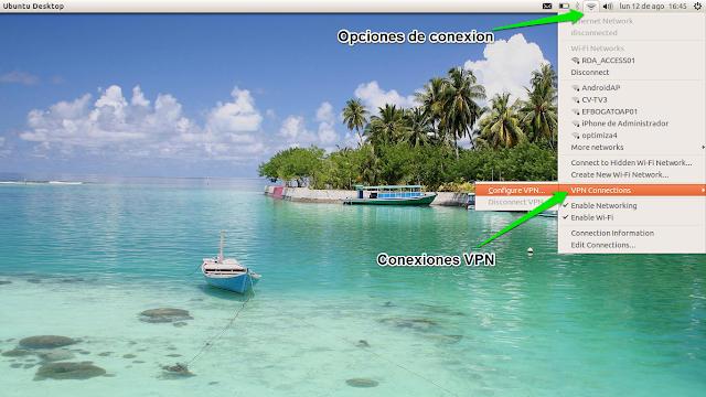 DriveMeca instalando un Cisco VPN en Ubuntu Linux