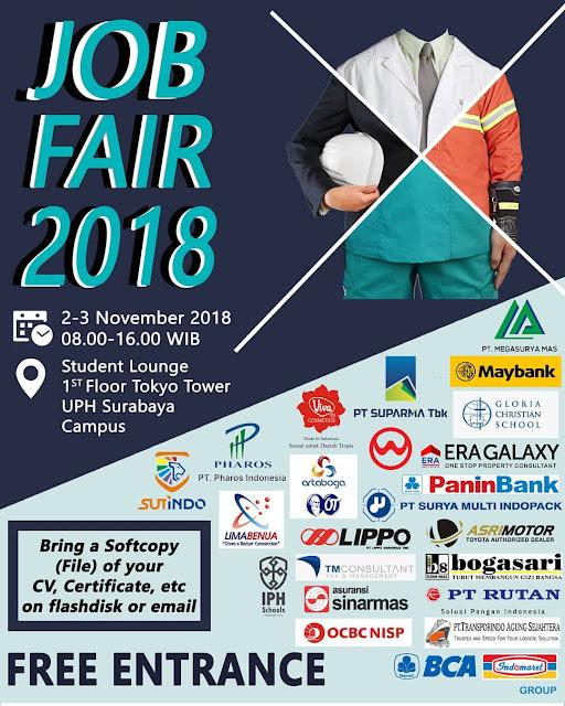 Job Fair Universitas Pelita Harapan  Surabaya