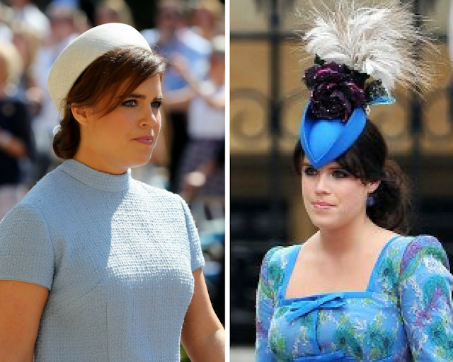 Eugenie, Princess of York outfit at Prince Harry and Prince William's Wedding Ceremonies