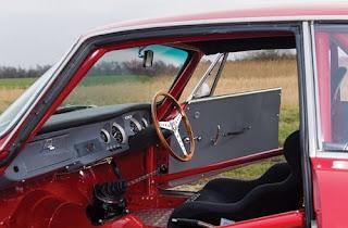 1965 Alfa Romeo Giulia Sprint GTA Interior
