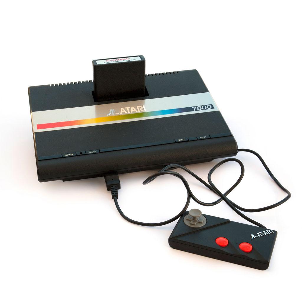 الأتارى القديم على منصة تجربة - Atari