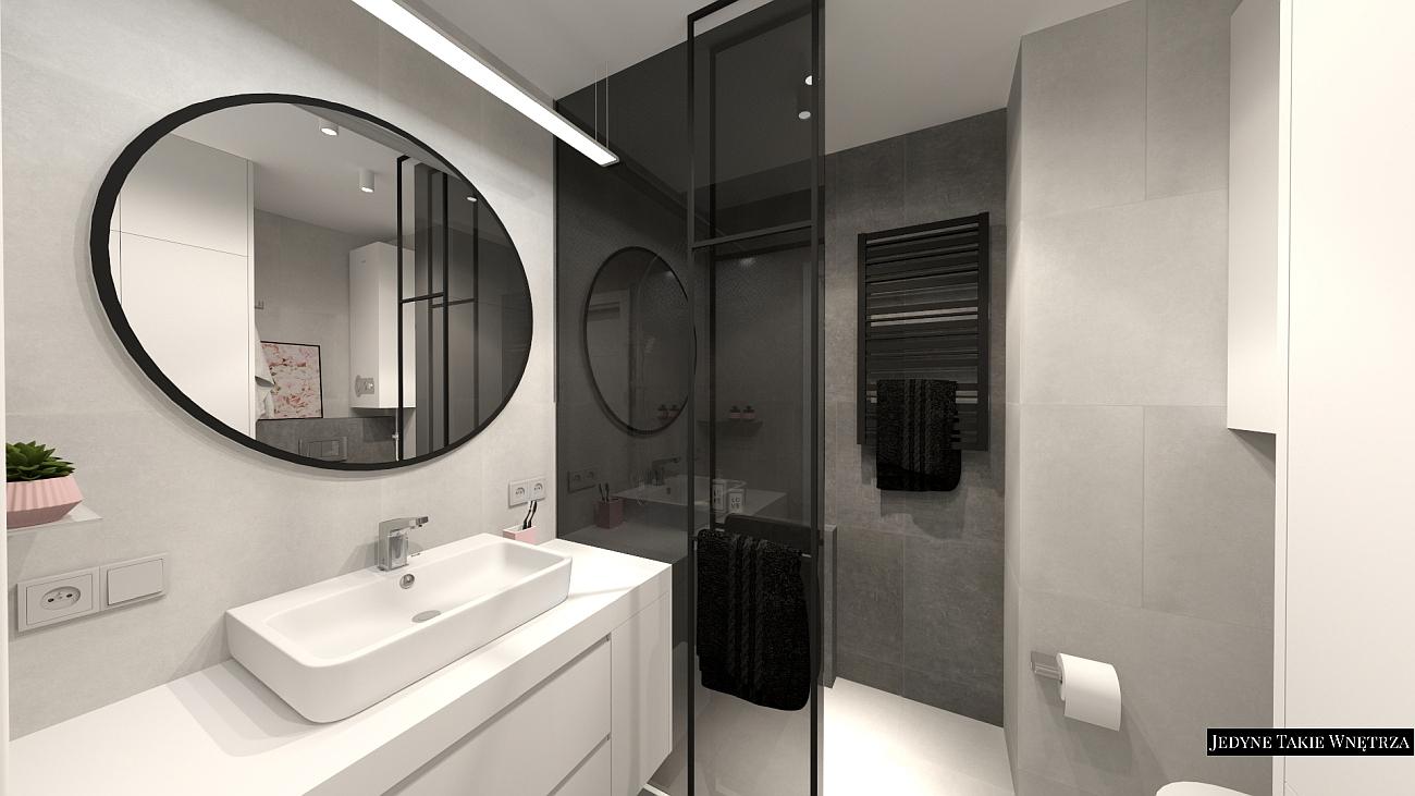 Minimalistyczna łazienka - aesthetic bathroom