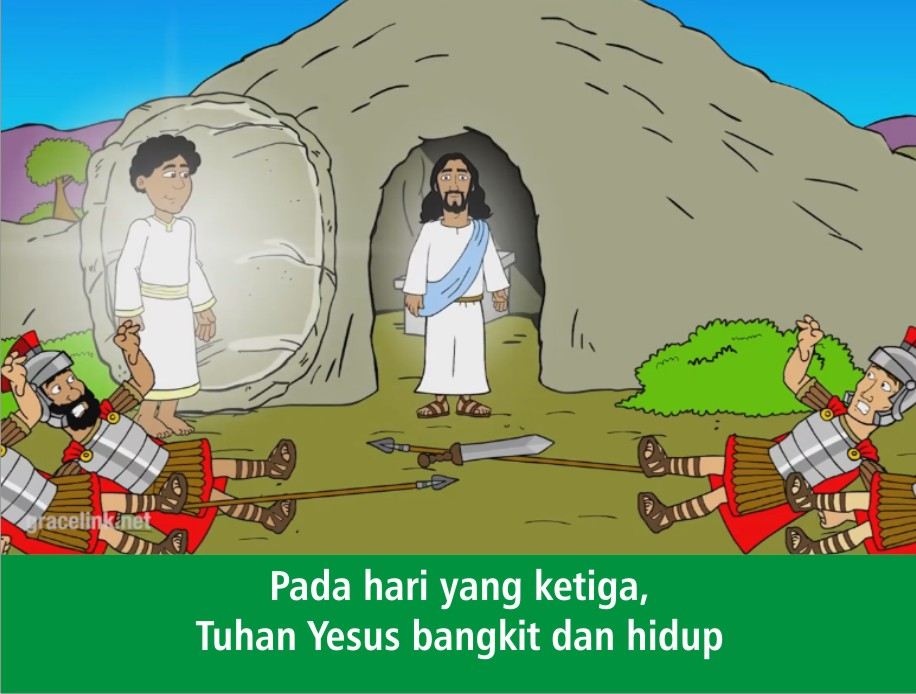 Komik Alkitab Anak Tuhan Yesus Naik Ke Surga