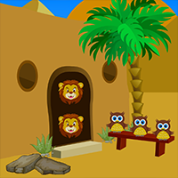 Avmgames Desert Castle Escape