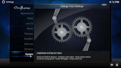 Configure Kodi on Windows PC