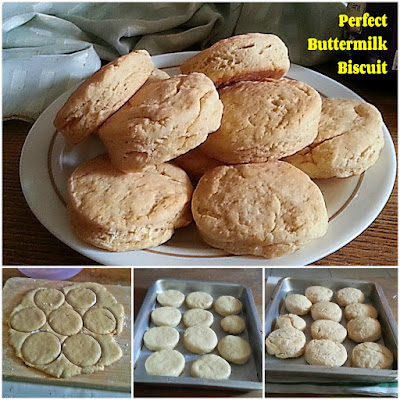 Perfect Buttermilk Biscuit Recipe @ treatntrick.blogspot.com