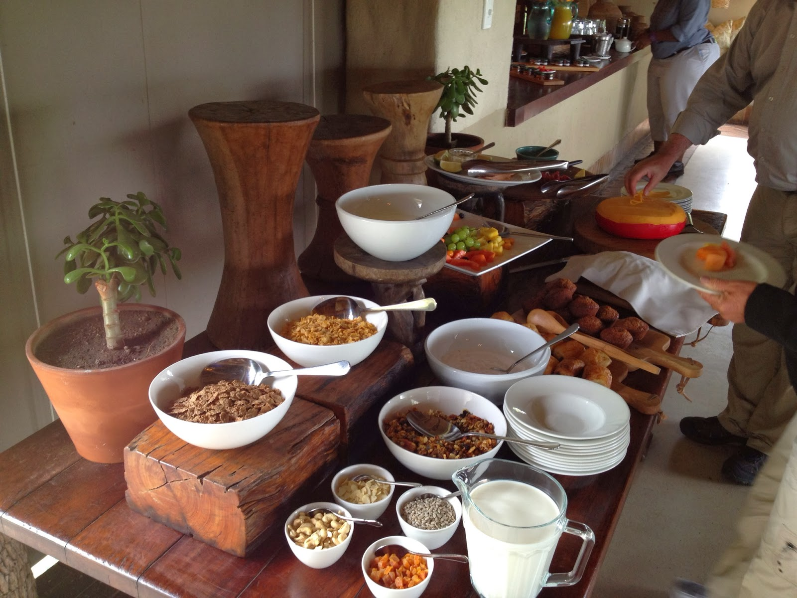 Sabi Sands - Breakfast spread